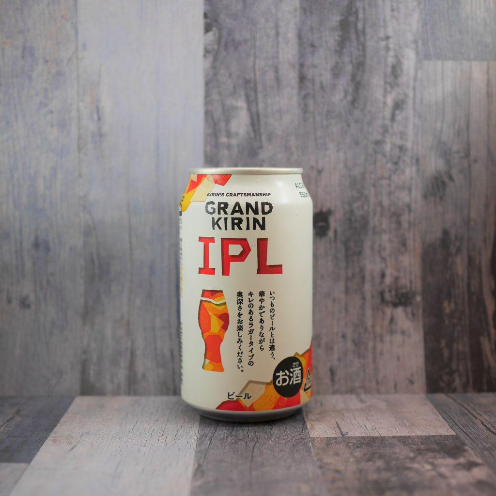 グランドキリンIPLの缶裏面