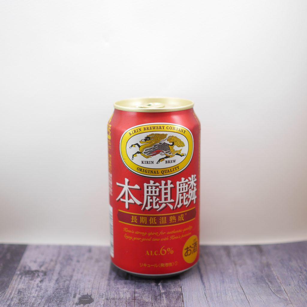 本麒麟の缶正面